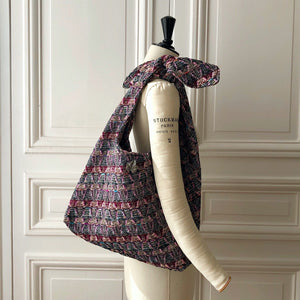 Sac Angèle Evesome en tweed - Evesome Angele tweed bag