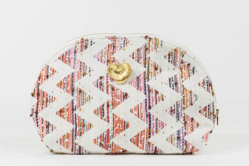 Pochette Eloha Evesome en tweed d'été - Eloha Evesome summer tweed clutch