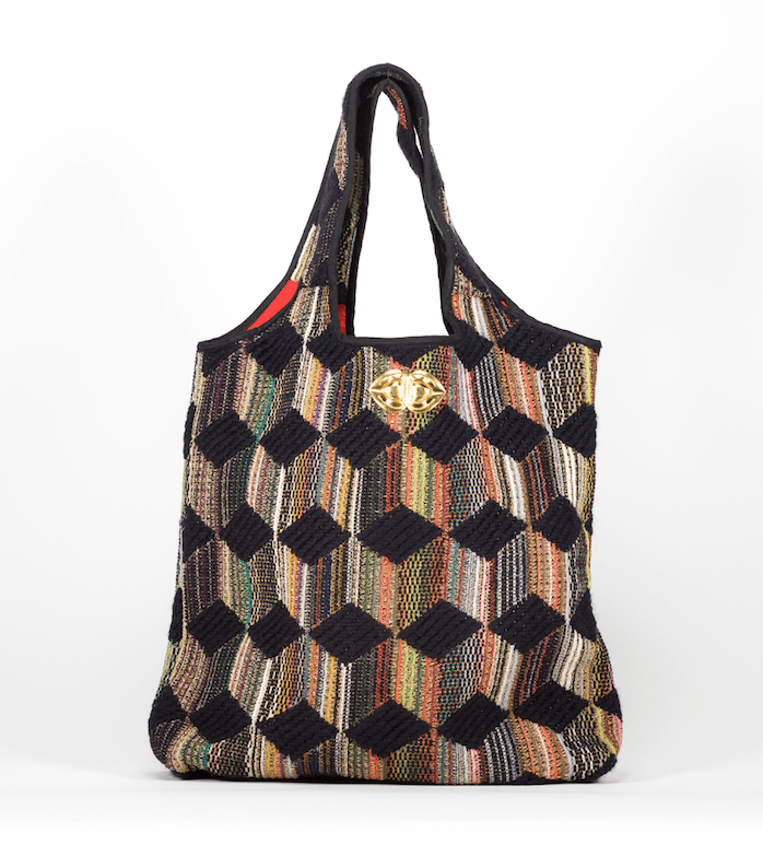Sac Flora Evesome en tweed -  Flora Evesome tweed bag
