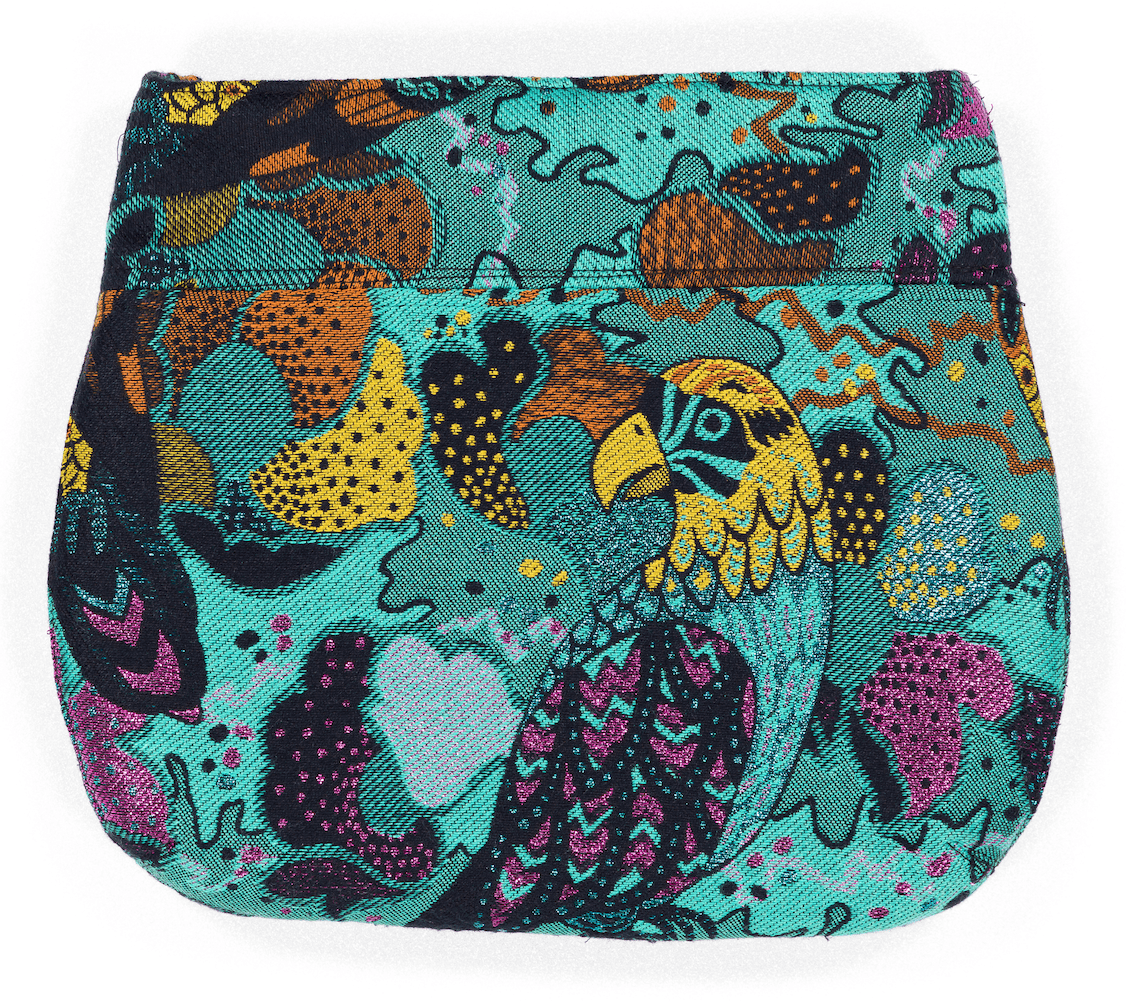 Pochette Irène Evesome en tweed d'été - Irène Evesome summer tweed clutch