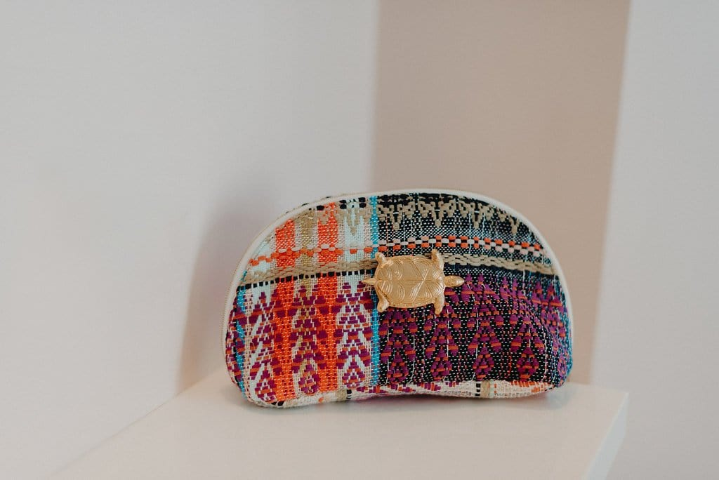 Pochette Sam Evesome en tweed d'été - Sam Evesome summer tweed clutch