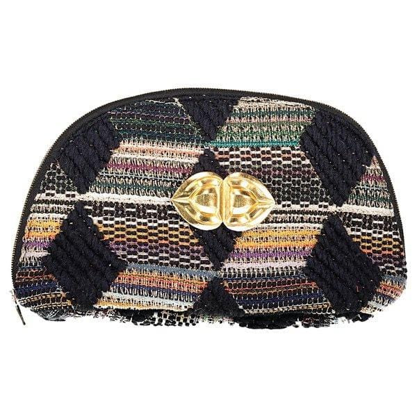 Pochette Sam Evesome en tweed - Sam Evesome tweed clutch
