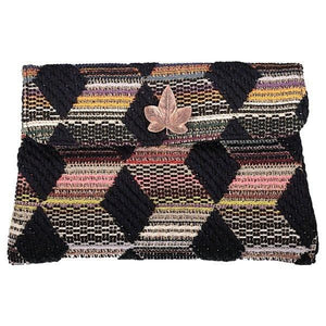 Pochette Séverin Evesome en tweed - Séverin Evesome tweed clutch