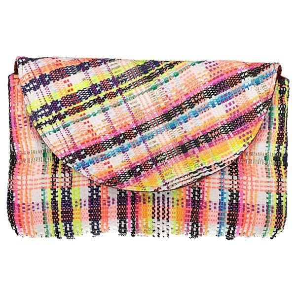 Pochette Sylvestrre Evesome en tweed  -Sylvestre Evesome tweed clutch