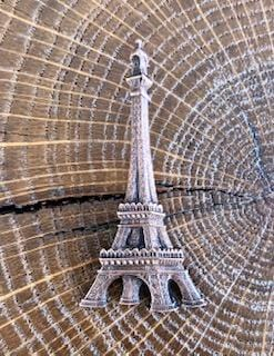Broche Tour Eiffel cuivrée Evesome - Copper Eiffel Tower Brooch Evesome