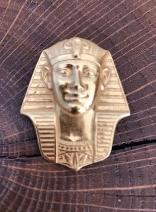 Broche Toutankhamon dorée Evesome - Golden Tutankhamun Brooch Evesome