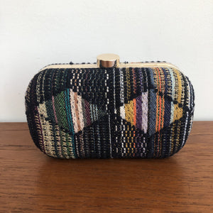 Pochette Pauline Evesome en tweed - Pauline Evesome tweed clutch