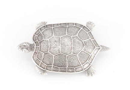 Broche Tortue Argentée Evesome - Silver Turtle Brooch Evesome
