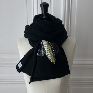 Echarpe Evesome maille serrée 250x40 cm 100% cachemire -  Evesome scarf tight mesh 250x40 cm 100% cashmere