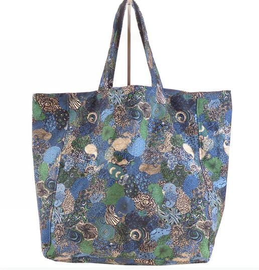Evesome x Denim Liberty sac Guillaume - Evesome x Liberty Guillaume Denim Liberty bag