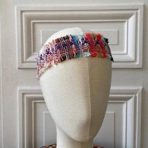 Headband en tweed Evesome