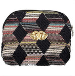 Pochette Jacques Evesome en tweed - Jacques Evesome tweed clutch