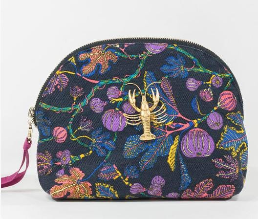 Evesome x Denim Liberty pochette Mathilde - Evesome x Liberty Mathilde Denim Liberty clutch