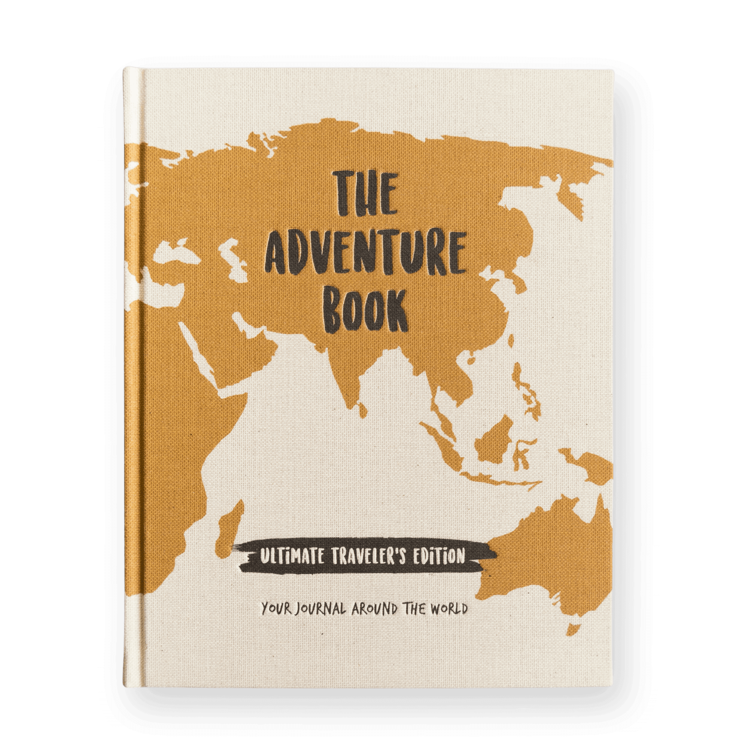 The Adventure Book Ultimate Traveler's Edition Front Hardcover Travel Journal.png