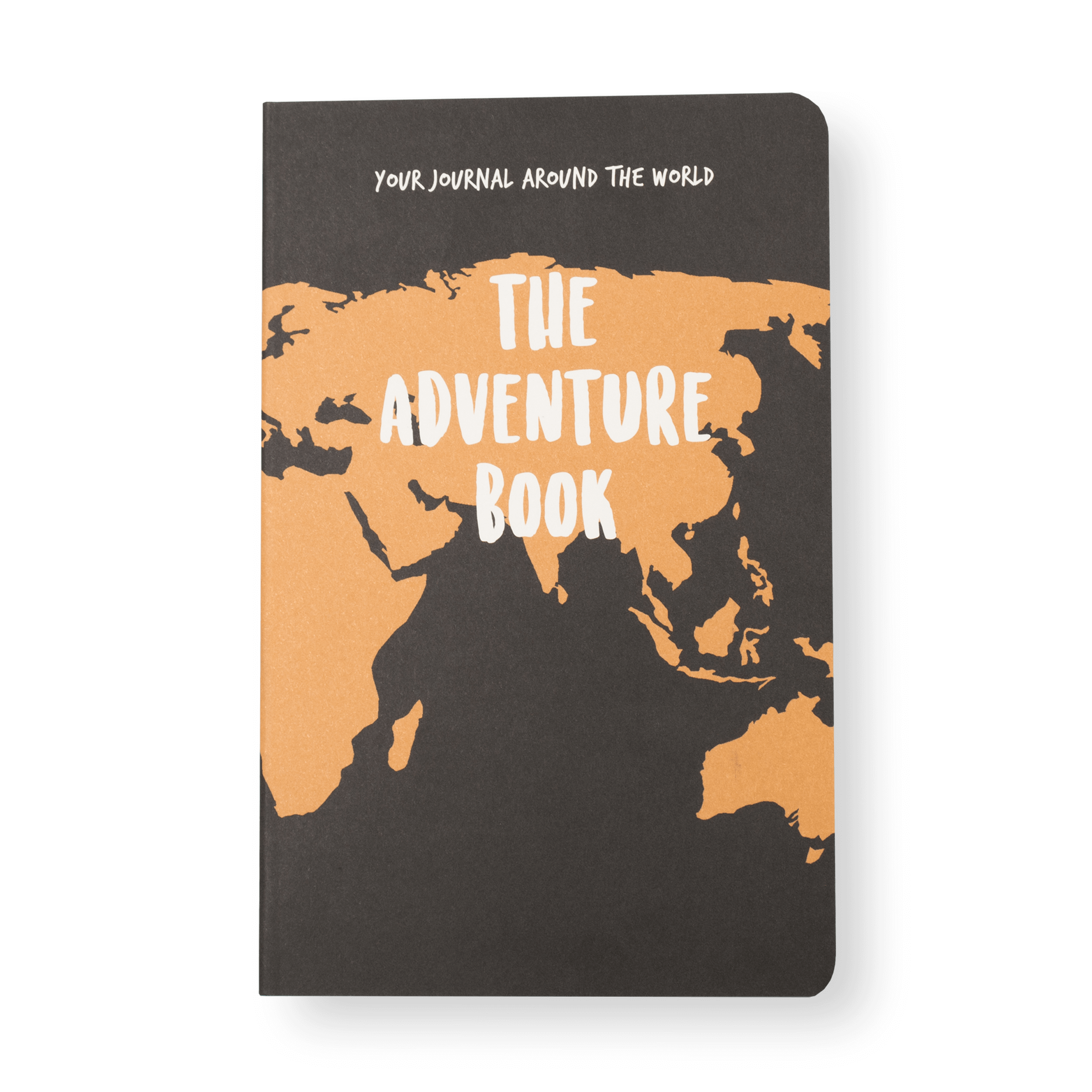 The Adventure Book front bare Travel Journal