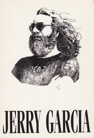 Jerry Garcia Wish Cards