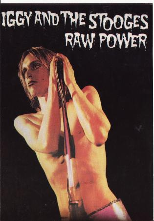 And The Stooges - Raw Power Post Cards