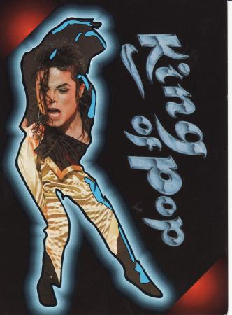King of Pop Post Cards