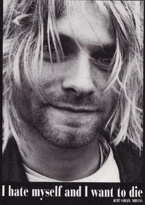 Kurt Cobain Post Cards