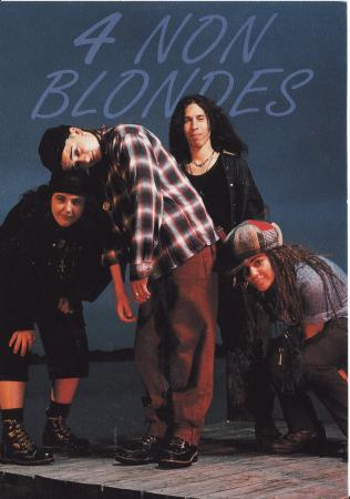 4 Non Blondes Post Cards