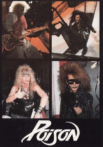 American Glam Metal Band Post Cards