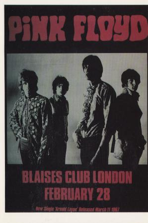 Blaises Club London February 28 Post Cards