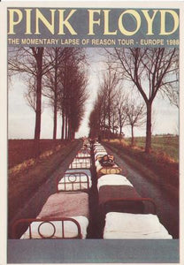 The Momentary Lapse of Reason Tour - Europe 1988 Post Cards