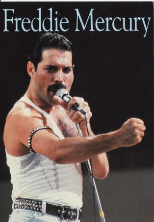 Freddie Mercury Post Cards