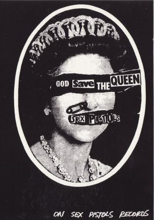 God Save The Queen Post Cards