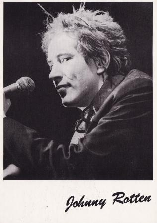 Johnny Rotten Post Cards