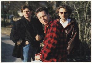Simple Minds Post Cards