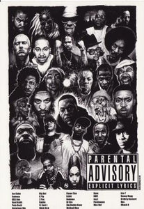 Ice Cube, Ice-T, Hip Hop Post Cards