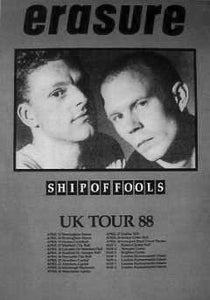 Promo Tour Poster UK Tour 1988 - Ship of Fools. Posters