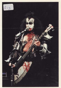 Gene Simmons Post Cards