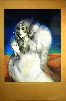 Journey Home (Psyche-1990). Published by Pomegranate, USA 1991 Posters