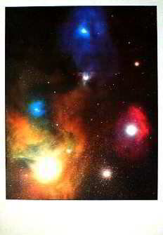 Antares And Reflection Nebulae; Art Print Posters