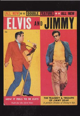 Elvis And Jimmy Post Cards