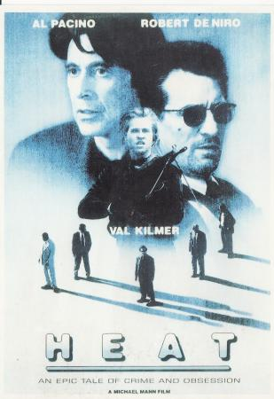 Al Pacino, Robert de Niro, Val Kilmer Post Cards
