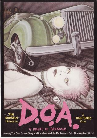 D.O.A.: A Right of Passage (1981) Post Cards