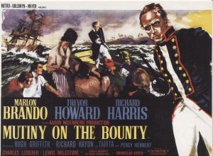 Mutiny On The Bounty Post Cards