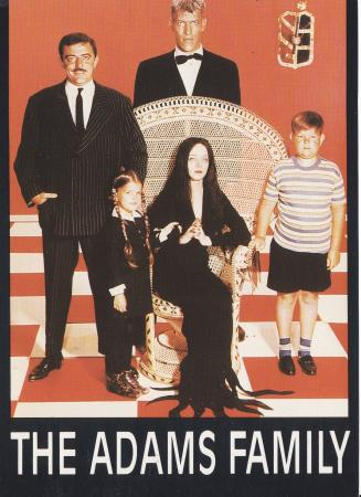 The Adams Family Post Cards