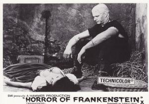 Horror Of Frankenstein Post Cards