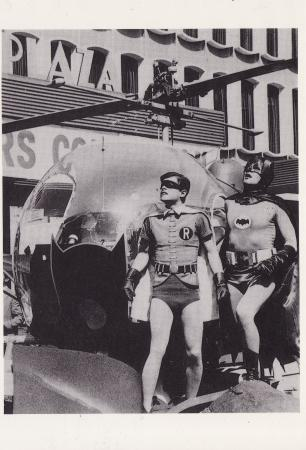Batman and Robin Post Cards