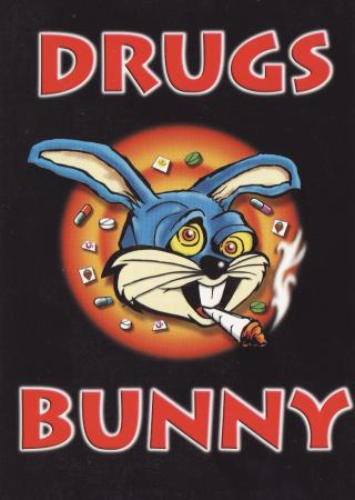 Drugs Bunny Post Cards