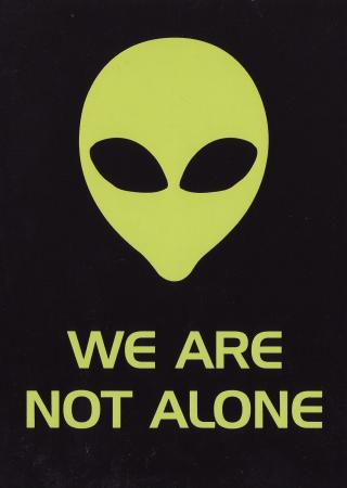 We Are Not Alone Post Cards