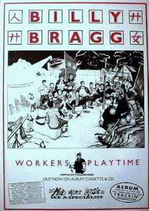 Workers Playtime. Concertposter Posters