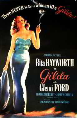 Rita Hayworth - Glenn Ford Posters