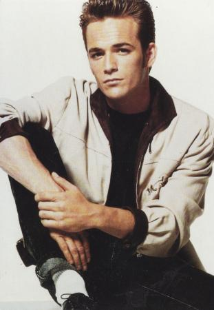Luke Perry Post Cards