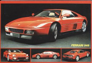 Ferrari 348 Post Cards