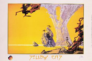 Yellow City. Pomegranate Publications Posters